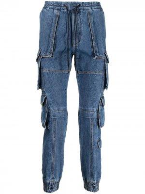 Зауженные джинсы Juun.J. Цвет: синий