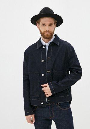 Куртка джинсовая N21. Цвет: синий