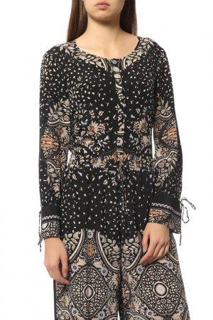 Блуза MAXMARA STUDIO. Цвет: черный