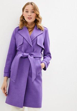 Пальто Vivaldi. Цвет: фиолетовый