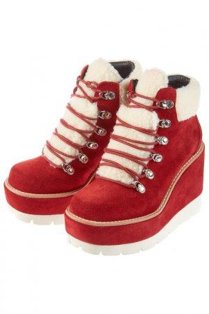 Ботинки JEFFREY CAMPBELL. Цвет: красный