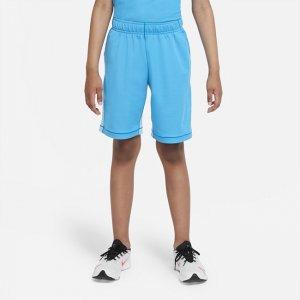 Шорты для тренинга с графикой мальчиков школьного возраста Dri-FIT - Синий Nike