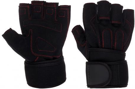 Перчатки для фитнеса, Черный, XXL Demix. Цвет: черный