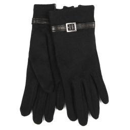Перчатки MAELLE/C100 черный AGNELLE