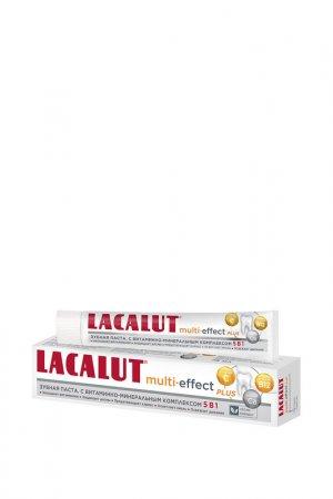Зубная паста МУЛЬТИ-ЭФФЕКТ plu LACALUT. Цвет: белый