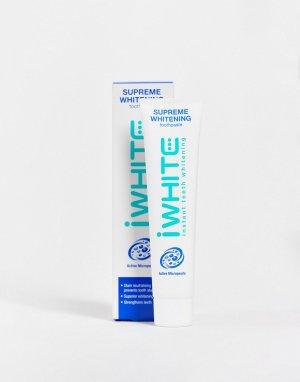 Отбеливающая зубная паста iWhite Supreme 75 мл-Бесцветный Beauty Extras