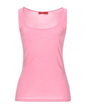 Майка MAX & CO.. Цвет: розовый