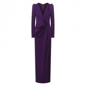 Платье Jenny Packham. Цвет: фиолетовый