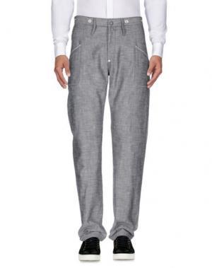 Повседневные брюки GARBSTORE. Цвет: серый
