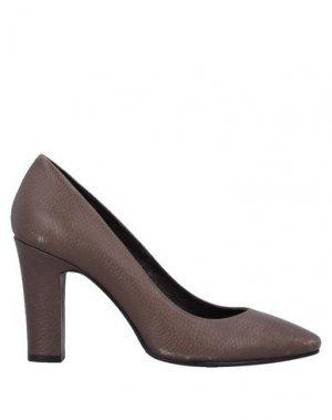 Туфли CAFèNOIR. Цвет: темно-коричневый