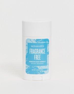 Натуральный дезодорант без запаха для чувствительной кожи Schmidts-Бесцветный Schmidt's