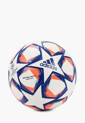 Мяч футбольный adidas FIN 20 LGE J290. Цвет: белый