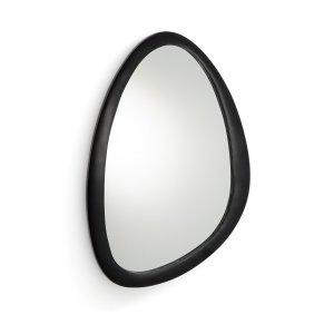 Зеркало LaRedoute. Цвет: черный