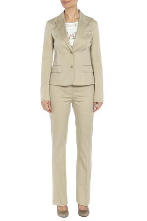 Костюм: пиджак, брюки CNC Costume National C'N'C. Цвет: бежевый