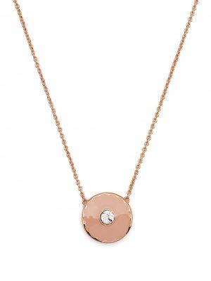 Колье Medallion с подвеской Marc Jacobs. Цвет: розовый