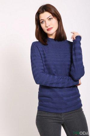 Пуловер Oui. Цвет: синий