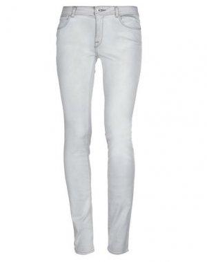 Джинсовые брюки DL1961. Цвет: светло-серый