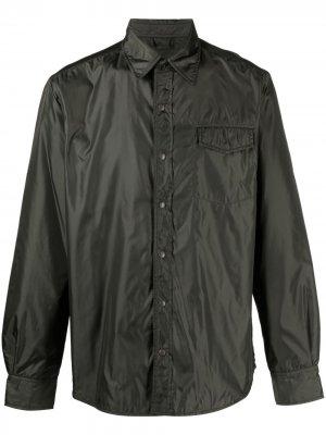 Легкая куртка-рубашка Aspesi. Цвет: зеленый