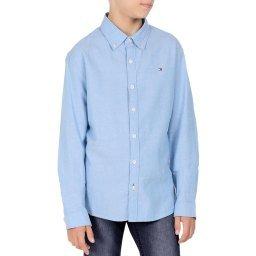Рубашка KB0KB05414 голубой TOMMY HILFIGER
