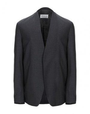 Пиджак MAISON MARGIELA. Цвет: стальной серый