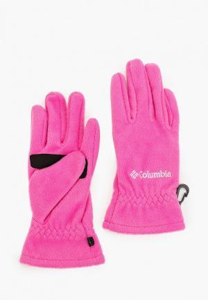 Перчатки Columbia Youth Thermarator™ Glove. Цвет: розовый