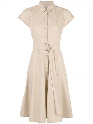 Платье-рубашка с короткими рукавами Akris Punto