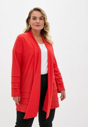 Кардиган Olsi. Цвет: красный