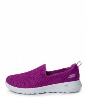 Слипоны женские Go Walk Joy, размер 40.5 Skechers. Цвет: фиолетовый