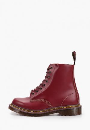 Ботинки Dr. Martens MIE Vintage 1460. Цвет: бордовый