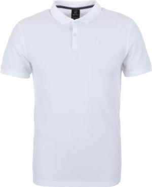 Поло мужское Essntl, размер 46-48 Nike. Цвет: белый