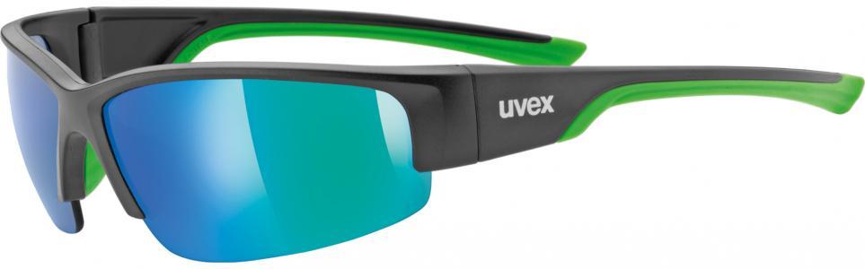 Солнцезащитные очки Sportstyle 215 Uvex. Цвет: черный