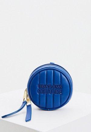 Кошелек Versace Jeans Couture. Цвет: синий