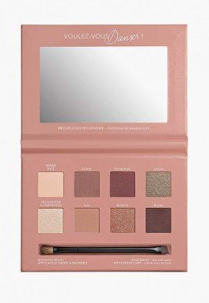 Палетка для глаз Bourjois Place de l`opera rose nude edition, 01, 110 г.. Цвет: разноцветный