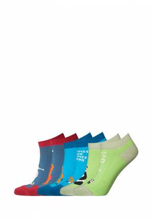 Комплект bb socks. Цвет: разноцветный