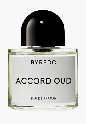 Парфюмерная вода Byredo Accord Oud 50 мл. Цвет: прозрачный