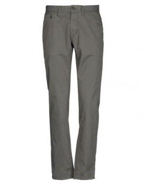 Повседневные брюки GARCIA. Цвет: зеленый-милитари