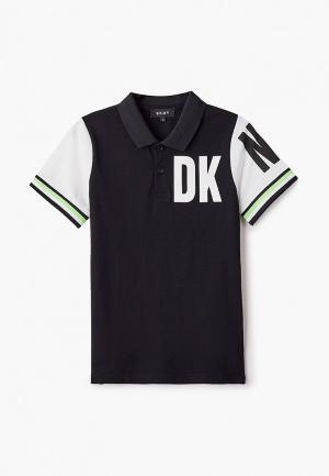 Поло DKNY. Цвет: черный