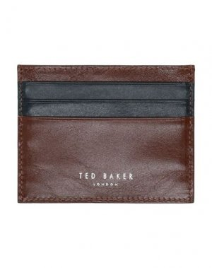Чехол для документов TED BAKER. Цвет: коричневый