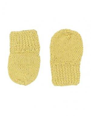 Перчатки CARAMEL. Цвет: охра