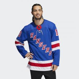 Оригинальный хоккейный свитер Rangers Панарин Performance adidas. Цвет: none