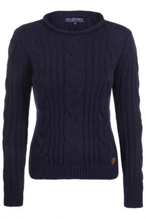 Пуловер Paul Parker. Цвет: navy