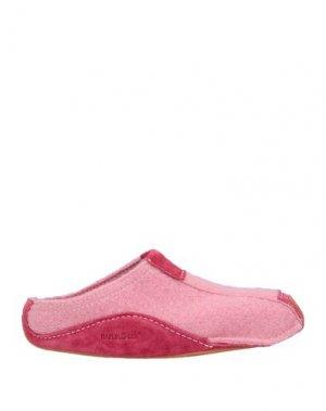 Домашние туфли HAFLINGER. Цвет: розовый