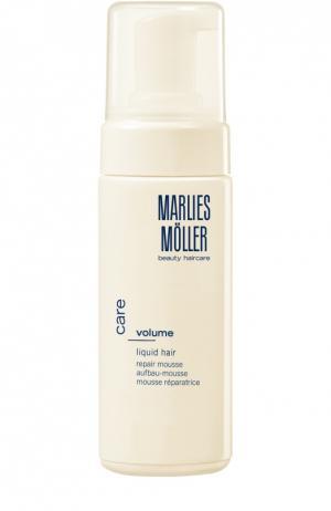 Мусс восстанавливающий для волос Marlies Moller. Цвет: бесцветный