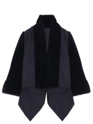 Куртка комбинированная с мехом FERRE