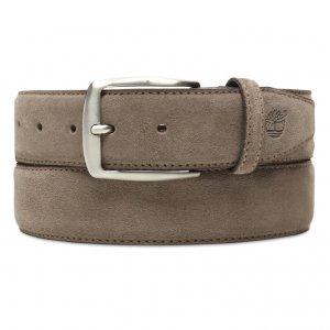 Ремни, пояса Suede Leather Belt 4 cm Timberland. Цвет: бежевый