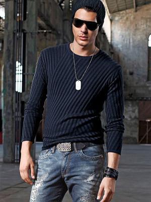 Джемпер Bruno Banani. Цвет: синий, черный
