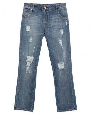 Джинсовые брюки G.SEL. Цвет: синий