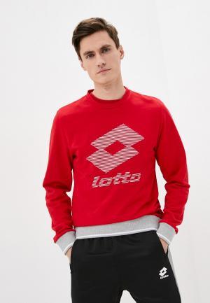 Свитшот Lotto BASIC BIG. Цвет: красный