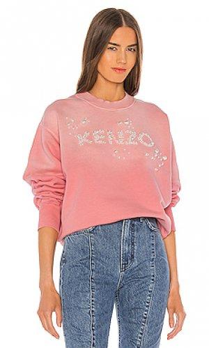 Свитшот bubble Kenzo. Цвет: розовый