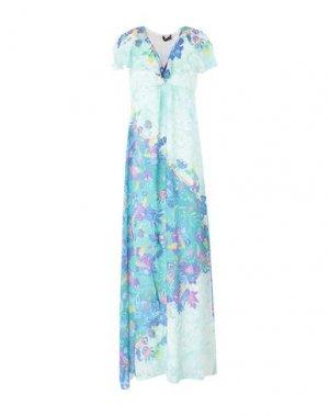 Длинное платье HALE BOB. Цвет: светло-зеленый